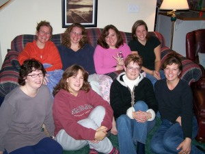 Members of my beloved Guild on a retreat