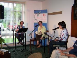 Anita Lustrea, Shelly, and Melinda Schmidt