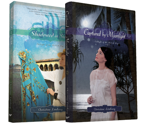 Twilight of the British Raj 1 & 2. Both of my beautiful daughters on the books God inspired.